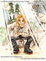Aller de l'avant - Edward Elric by oOFlorianeOo