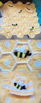 Crochet Bumble Bee Baby Blanket by aurora-bloodshard