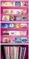 Sailormoon CD collection 2013 by kuroitenshi13