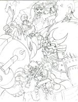sonic universe 40 cover teaser by trunks24