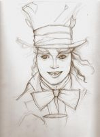 mad hatter WIP by VPdessin