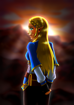 Zelda by JeffriArt