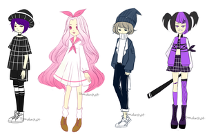 [ADOPT 104-107][SKETCHY ADOPTS][CLOSED] $1 SB by tomiden