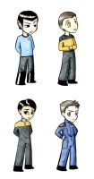 Star trek chibis by squizzlenut