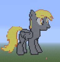 Minecraft Derpy Hooves by pepsidrink19
