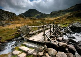 Bridge to Tryfan by ArwensGrace