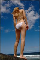 Peach - amongst clouds 2 by wildplaces