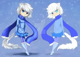 Arctic Fox Adopt Auction [closed] by AmaranthicalRose