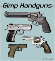 Gimp Handguns by Geosammy