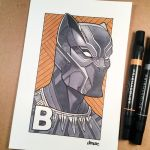 B is for Black Panther by D-MAC