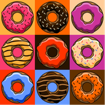 Nine Donuts by Mr-Bluebird