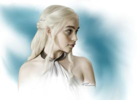 Game of Thrones: Dany by ChaosNDisaster