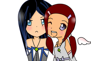 :UTAU: Art Trade - Yume and Layla by AmaiKandy