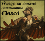 Weekly Comissions CLOSED by Shadow-Wolf