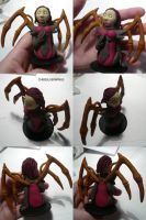 Zerg Chess Set Queen Kerrigan by ChibiSilverWings