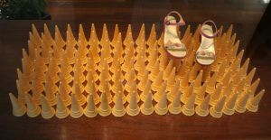 cone's and shoes by 96jac