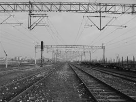 train lines in thrace by atahan