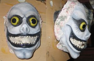 Ryuk Face Final by QueenToast