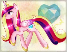 Lottery prize: Princess Cadence by nao-shii