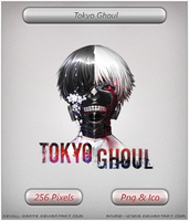 Tokyo Ghoul v3- Anime icon by DevilL-Dante