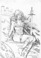 Red Sonja. by Leomatos2014