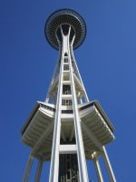 Space Needle by V0JELLY