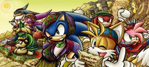 Sonic Riders - For Contest by sapphireluna