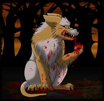 Blood on your Paws by MetallicUmbrage