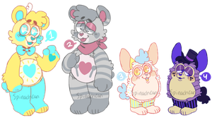 Stream Adopt Batch 1 || Open by SpinachCan