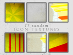 17 random icon textures by Kiho-chan