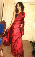 red saree by maiyin