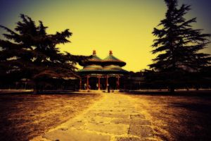 The Beijing Temple of Heaven double Pavilion by sunny2011bj
