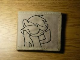 Rainbow Dash Embroidered Wallet by sparklepeep