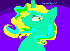 NEON CRYSTAL. by Maiko-of-Harmony