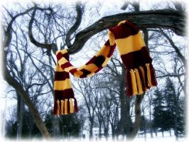 Home made Harry Potter Scarf by Reenin