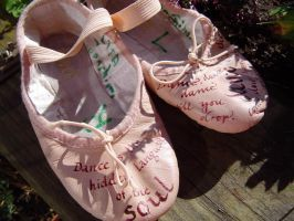 dance shoes by jademond