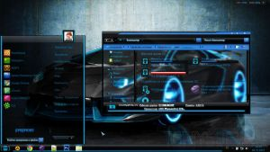 Luminous Theme For Win 7 by Shadow--Warrior