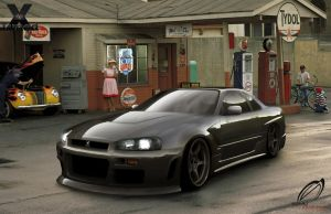 Skyline R34 by SaMuVT