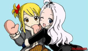 Lucy and Mirajane by KhalSalamander
