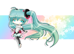 Chibi Hatsune Miku Contest Entry by ProudPastry