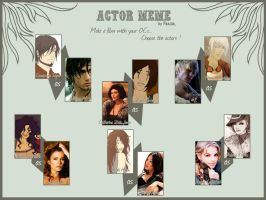 Actor Meme done by Rakiah
