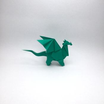 Origami Dragon by orimin