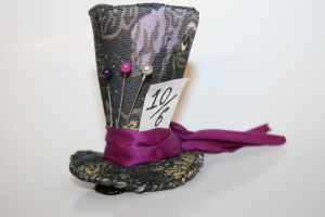 Miniature top hat 8. by Ginaart