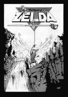Legend of Zelda Comic Cover by crislink
