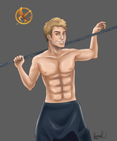 Finnick Odair by Icelandic-catlover