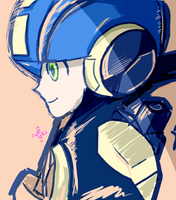 Hub Megaman exe by MegumiNoLove