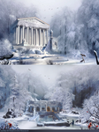 Winter came to ancient Greece by Roiuky