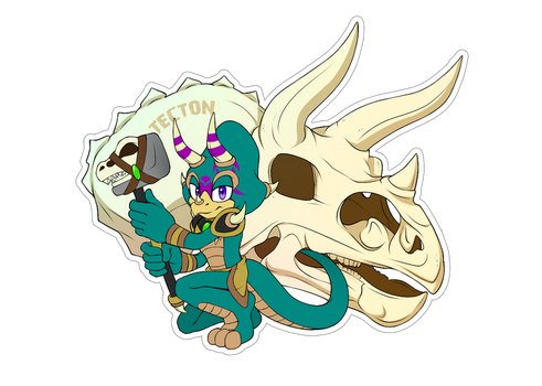 Comm. Sticker. Tecton by 13VOin