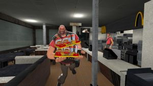 Heavy at McDonald's by 0640carlos