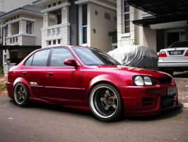 Hyundai Accent 2002 by ronaldesign